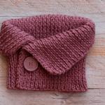 Principiante, este patrón es para ti: cómo tejer un cuello