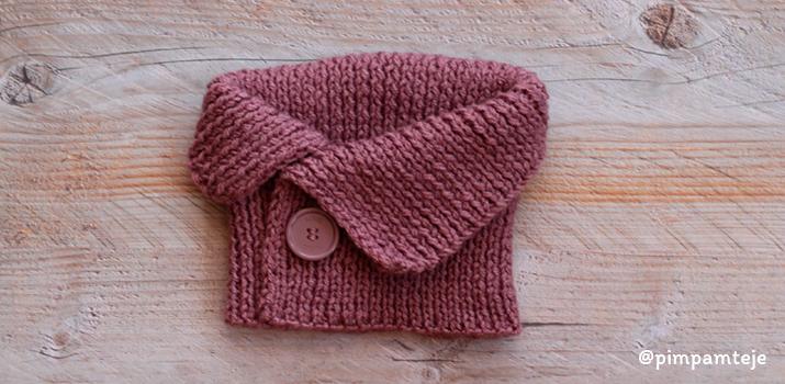 Cómo tejer un cuello sencillo: principiante este patrón es para ti.