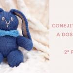 Conejo tejido a dos agujas: 2ª parte