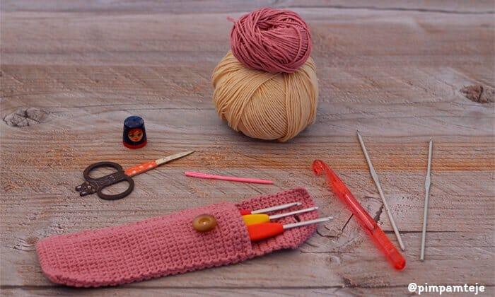 ¿Qué necesito para empezar a tejer ganchillo o crochet   417bb215d19