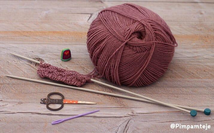 4 herramientas para empezar a tejer