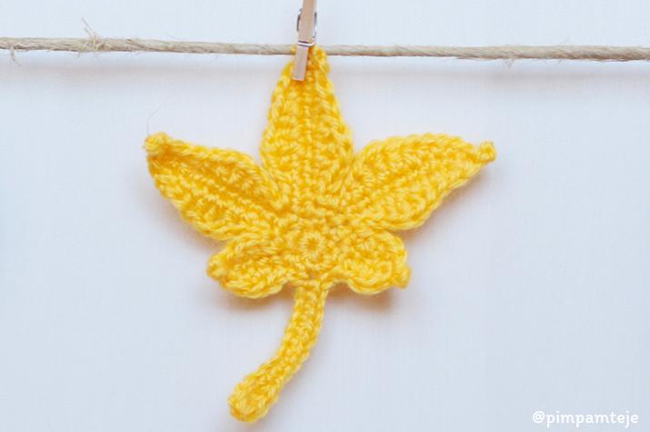 Decoración de otoño: patrones gratis de ganchillo. Teje y decora tu ...