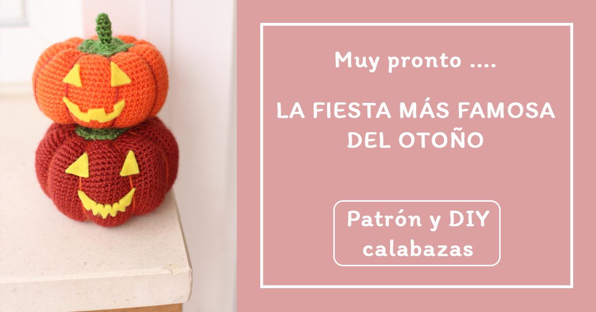 Diy y patrón calabaza de ganchillo - crochet