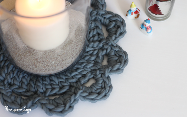Mantelillo de ganchillo - crochet tipo mandala