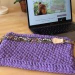 Mi primer proyecto de trapillo: bolso para el portátil