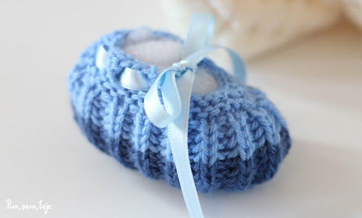 Como tejer patucos para bebés prematuros