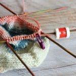 5 consejos para tejer calcetines con agujas de doble punta.