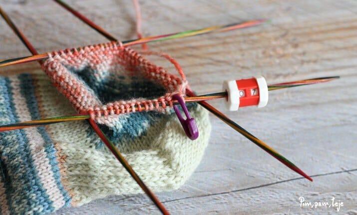 5 consejos para tejer calcetines con agujas de doble punta | Pim ...