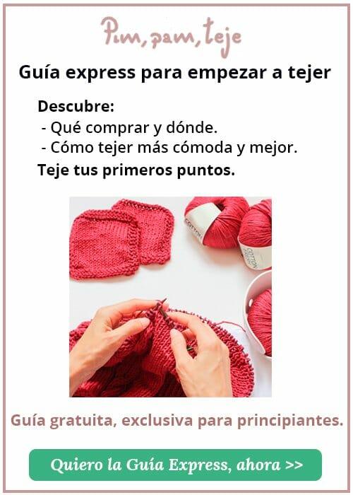 Guía Express para empezar a tejer