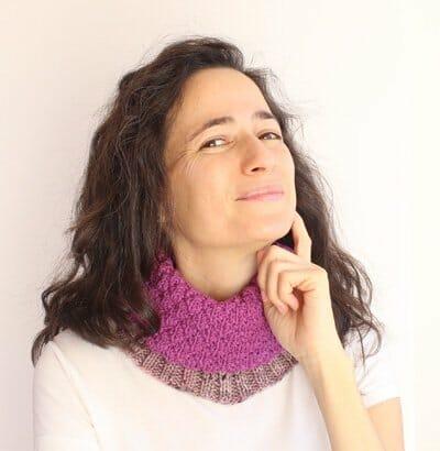 Curso online para tejer el cuello y gorro My First