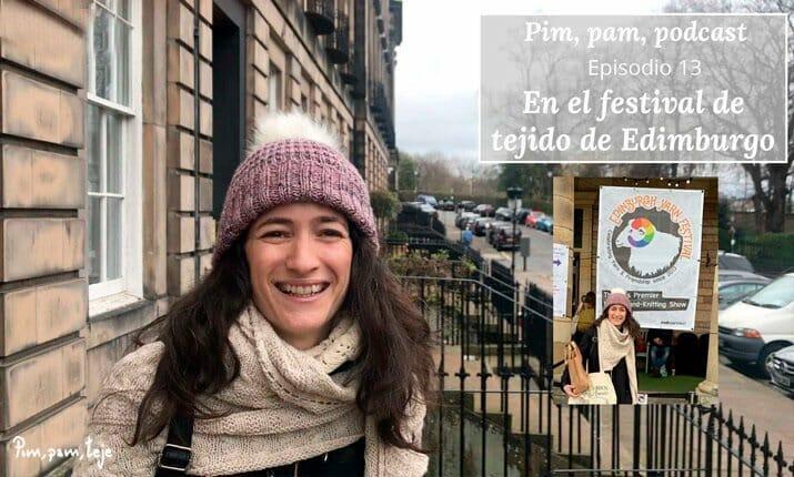 En el festival de tejido de Edimburgo