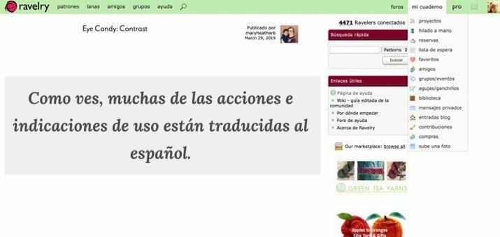 Ravelry en Español