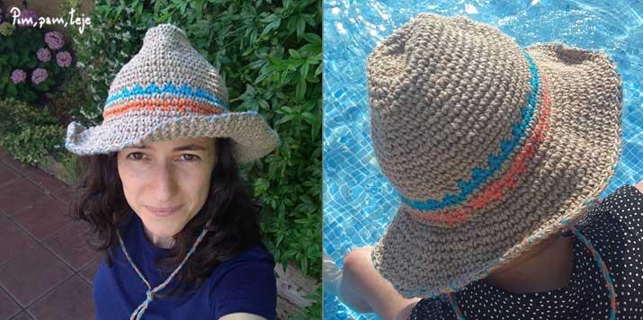 Sombrero de ganchillo