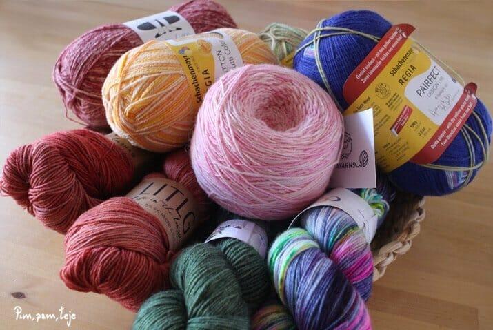 lana para calcetines