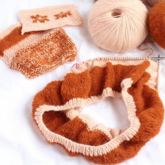 Curso online para tejer con agujas circulares