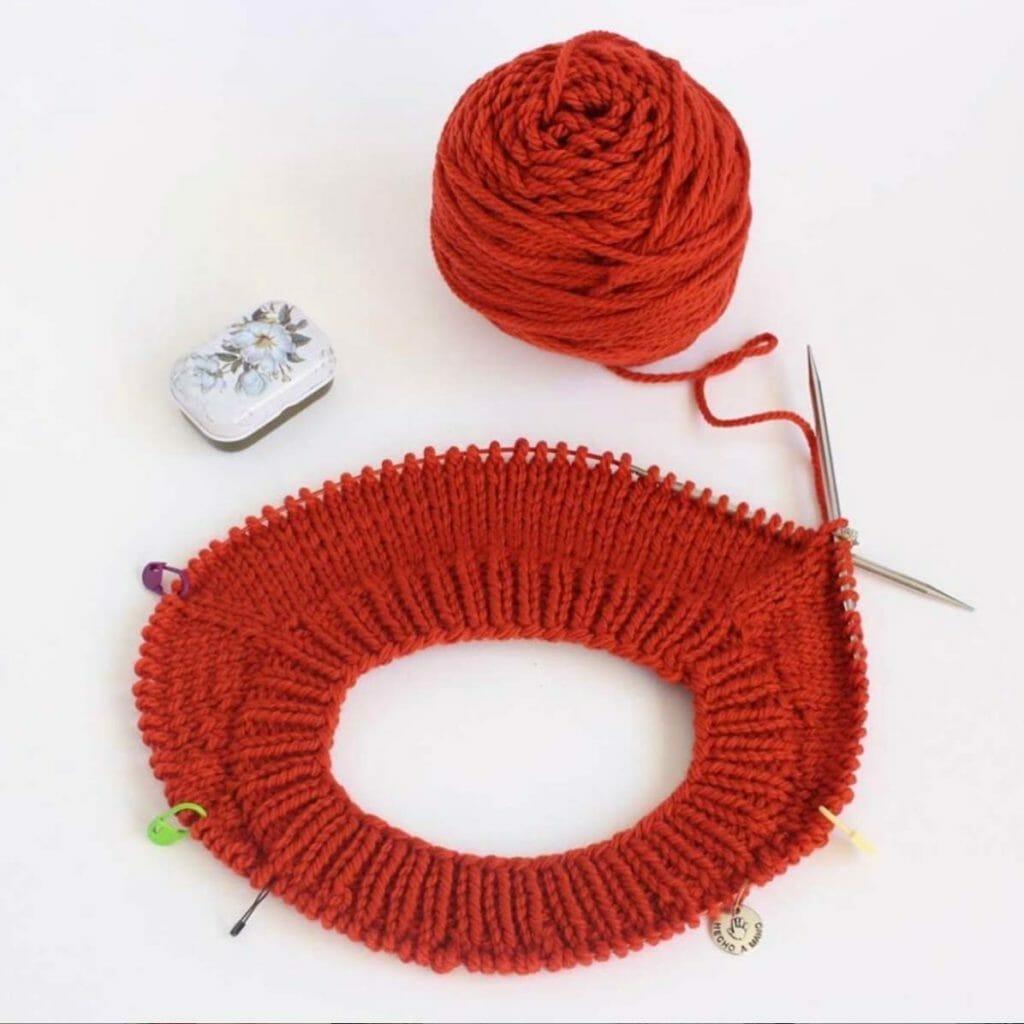 Aprende a tejer con circulares al estilo continental