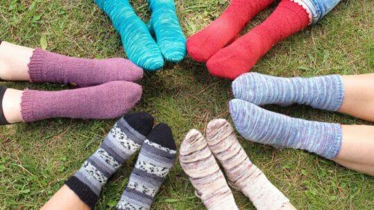 Aprender a tejer calcetines
